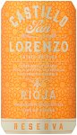 Label for Castillo San Lorenzo Rioja Reserva 75cl