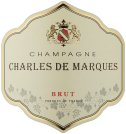 Label for Charles de Marques Champagne 750ml
