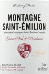 Label for Tesco finest* Montagne St Emilion 75cl