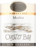 Label for Oyster Bay Merlot, Hawkes Bay 75cl