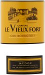 Label for Ch Le Vieux Fort Cru Bourgeois