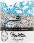 Label for Mountain Vineyards Sauvignon Blanc 75cl