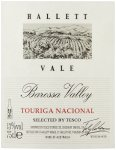 Label for Tesco finest* Australian Touriga Nacional 75cl