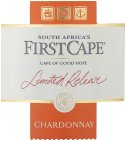 Label for First Cape Limited Release Chardonnay 750ml