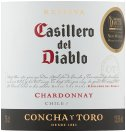 Label for Casillero del Diablo Reserva Chardonnay 75cl