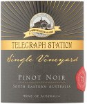 Label for Telegraph Station Pinot Noir 75cl